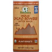 Natierra Cacao Powder, with Maca, Organic