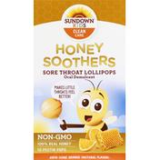 Sundown Sore Throat Lollipops, Aww-Some Orange