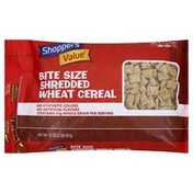 Shoppers Value Cereal, Shredded Wheat, Bite Size