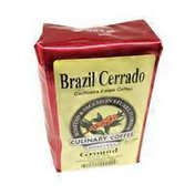 Culinary Coffee Roasters Brazil Cerrado Cachoeira Estate Coffee Ground