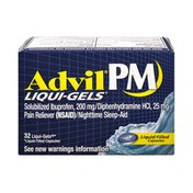 Advil PM Ibuprofen 200 mg Liqui-Gels - 32 CT