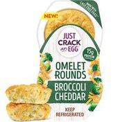 Just Crack An Egg Broccoli Cheddar Egg Bites with Eggs, Cheddar Cheese & Broccoli