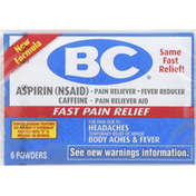 B&c Pain Reliever/Fever Reducer, Powders