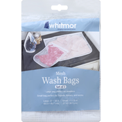 Whitmor Wash Bags, Mesh