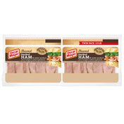 Oscar Mayer Shaved Smoked Ham & Water Product 97% Fat Free Lunch Meat Twin Pack