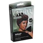 Evolve Scarf, Wrap, Black 305