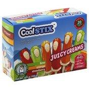 Coolstix Juicy Creams, Assorted
