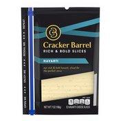 Cracker Barrel Havarti Cheese Slices