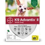 Bayer K9 Advantix II Topical Flea & Tick Treatment for Small Dogs (4-10 lbs.)