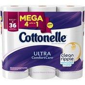 Cottonelle Ultra Comfort Care Mega Roll Toilet Paper