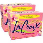 LaCroix Hi-Biscus Sparkling Water - 2/12pk/12 fl oz Cans