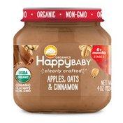 Happy Baby Apples, Oats & Cinnamon