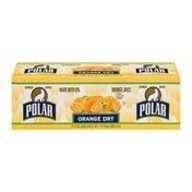 Polar Orange Juice Orange Dry - 12 CT