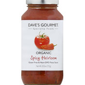 Dave's Gourmet Organic Spicy Heirloom Marinara Sauce
