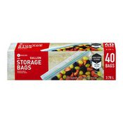 Southeastern Grocers Resealable Storage Bags Gallon - 40 CT