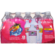 Fruit 2 O Purified Water Beverage, 20 Pack