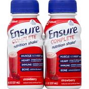 Ensure Nutrition Shake, Strawberry