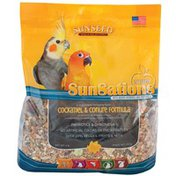 Sunseed Natural Cockatiel & Conure Food