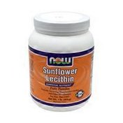 Now Sunflower Lecithin Essential Nutrient Pure Powder