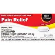Best Choice 650 mg Non Aspirin Acetaminophen Pain Relief Caplets