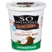 So Delicious Cultured Unsweetened Coconut Milk