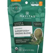Navitas Organics Superfood + Greens Blend, Organic, Moringa + Kale + Wheatgrass