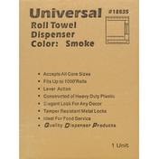 First Street Roll Towel Dispenser, Smoke