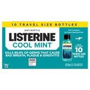 Listerine Cool Mint Antiseptic Mouthwash, Travel Size