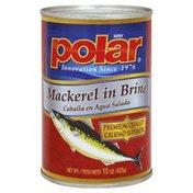 Polar Mackerel, in Brine