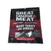 Great Canadian Meat Company Sweet Heat Flavored Beef Jerky