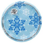 Party Creations Plate Snowflake 8.7