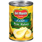 Del Monte Pear Halves, Lite