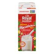 Royal Hawaiian Orchards Original Macadamia Milk Unsweetened