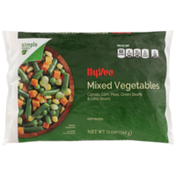 Hy-Vee Mixed Vegetables Carrots, Corn, Peas, Green Beans & Lima Beans