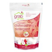 Grab Green Automatic Dishwashing Detergent Red Pear - 24 CT