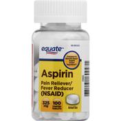 Equate Aspirin, 325 mg, Coated Tablets
