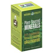 Natural Vitality Minerals, Plant-Sourced