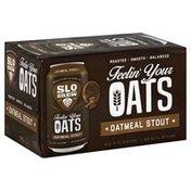 Slo Brew Beer, Oatmeal Stout, Feelin' Your Oats