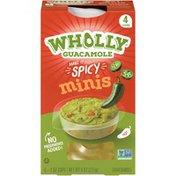 Wholly Guacamole Spicy Guacamole Minis
