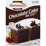 Manischewitz Cake Mix, Chocolate, with Fudge Frosting