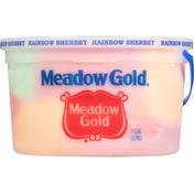 Meadow Gold Sherbet, Rainbow