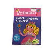 Peaceable Kingdom Princess Match Up Learn Numbers Games & Puzzles