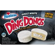 Hostess Ghost White Fudge Ding Dongs