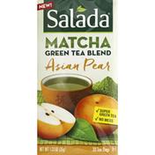 Salada Green Tea Blend Matcha Asian Pear