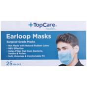 TopCare Surgical-Grade Earloop Masks