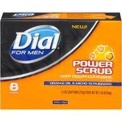 Dial Power Scrub with Orange Oil & Micro Scrubbers Soap