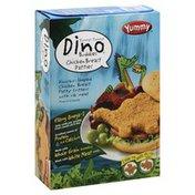 Yummy Chicken Breast Patties, Dino Buddies, Box