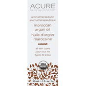 Acure Argan Oil, Moroccan, Coconut, All Skin Types