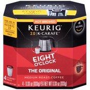 Eight O'Clock Coffee Original K-Carafe Packs Coffee