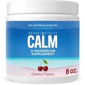 Natural Vitality Anti-Stress Drink Mix, Cherry Flavor